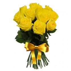 Букет желтых роз.