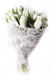 Белые тюльпаны в крафте в интернет магазине kaktus-24.ru