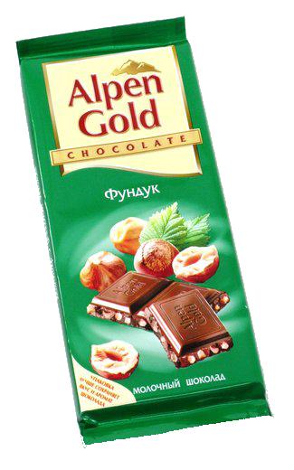 Шоколадка Alpen Gold в интернет магазине kaktus-24.ru