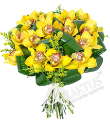 Букет орхидей.