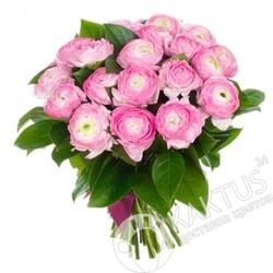 Букет розовых лютиков в СПб.